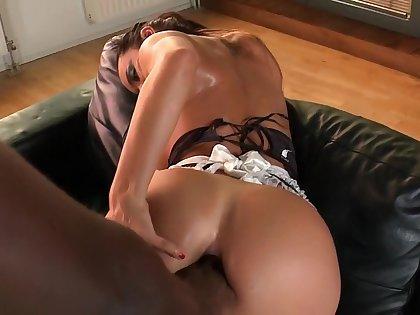 Fabulous pornstar Franceska Jaimes in exotic interracial, pov porn movie