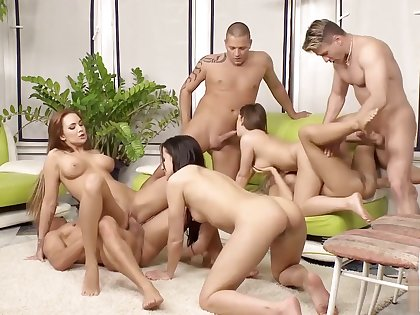 Kinky musical chairs sex game part 6