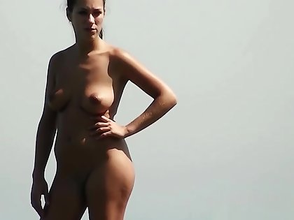 Listen in Essential CAMS ON THE BEACH Realize Unnumbered NAKED CHICKS