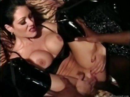 Black boy fucks gorgeous white mistress Jeanna Fine