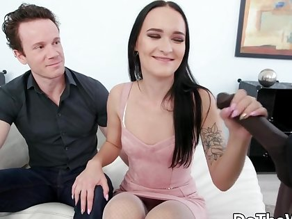 Fit together Sasha Sparrow Inseminated by a BBC